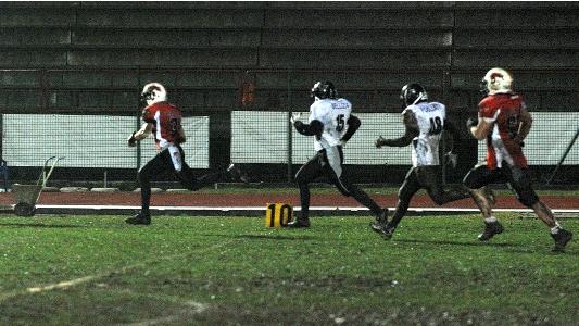 Vismara's 40 yards run!